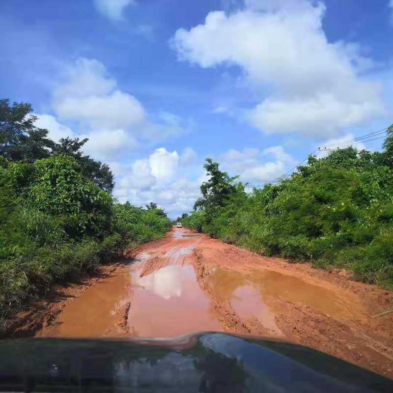 ラオスの道